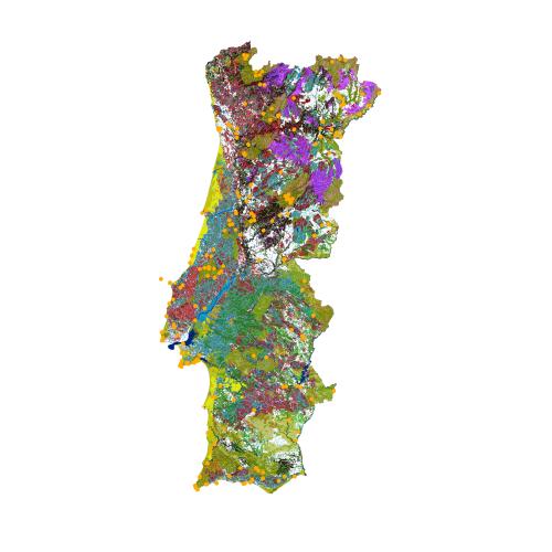 EPIC WebGIS Portugal - Portugal vegetation map